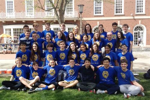 Math Team 2015 (UofI)